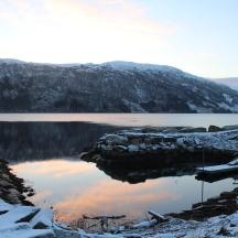 Eid, Norway. December 2015
